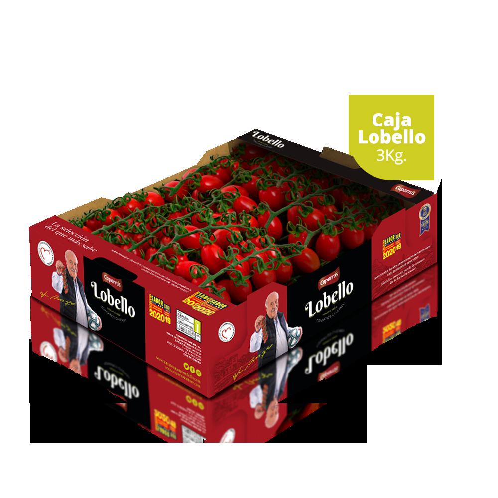 Lobello Box 3kg Kaparrs Natur